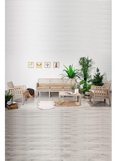 Sandalie Lara 3+1+1+S Balkon&Teras&Bahçe Mobilyası / Cappucino Kahve